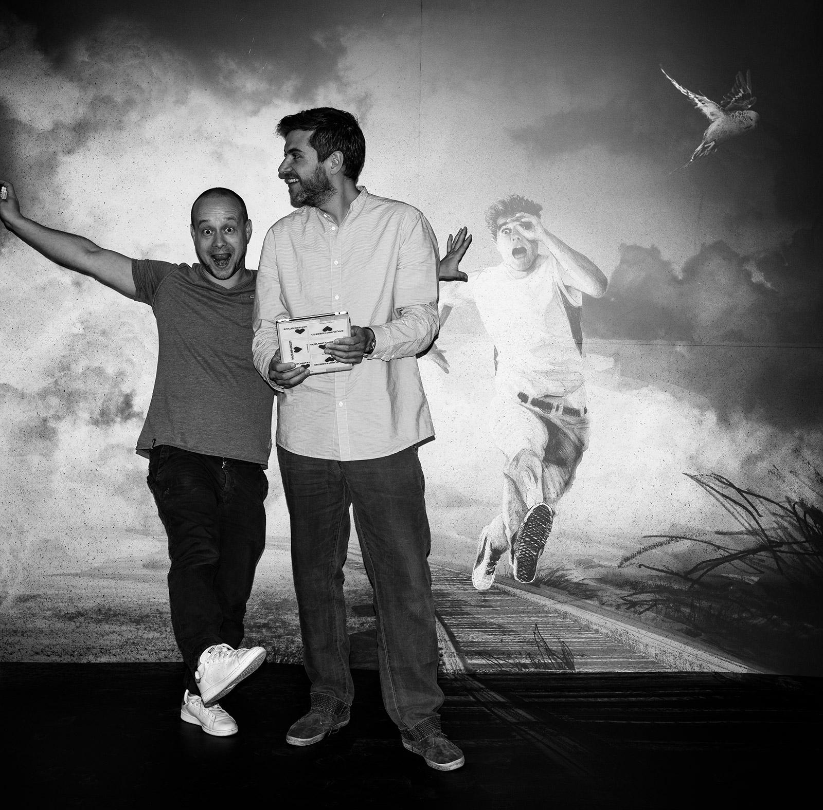 Daniel Reiss und Frank Gräfe