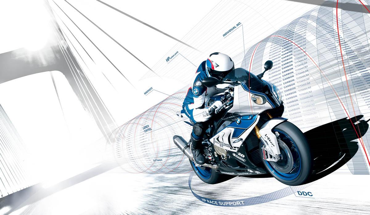Eat Sleep And Design - BMW Moterrad - HP4