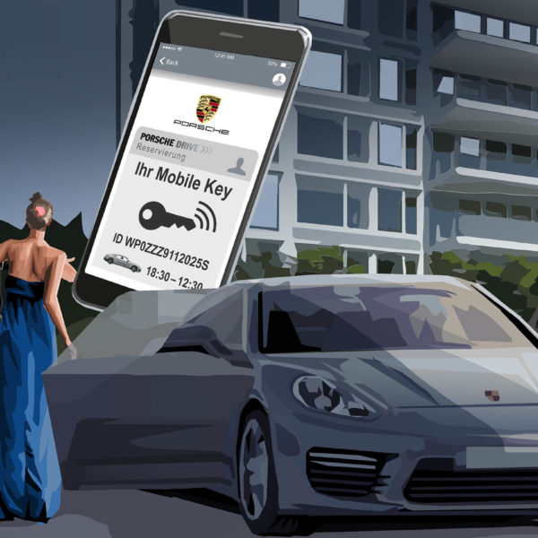 Eat Sleep And Design Porsche - Costumer Journeys Storyboard