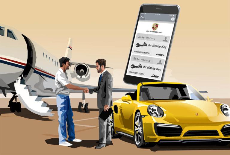 Eat Sleep And Design Porsche - Costumer Journeys Storyboard