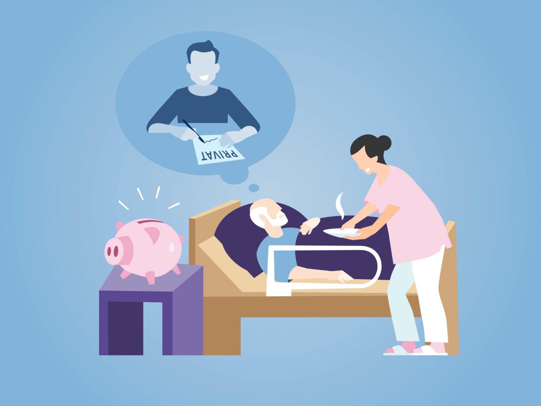 Eat Sleep And Design R+V Plegeversicherung