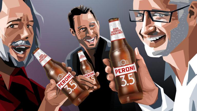 Eat Sleep And Design Peroni Band Storyboard