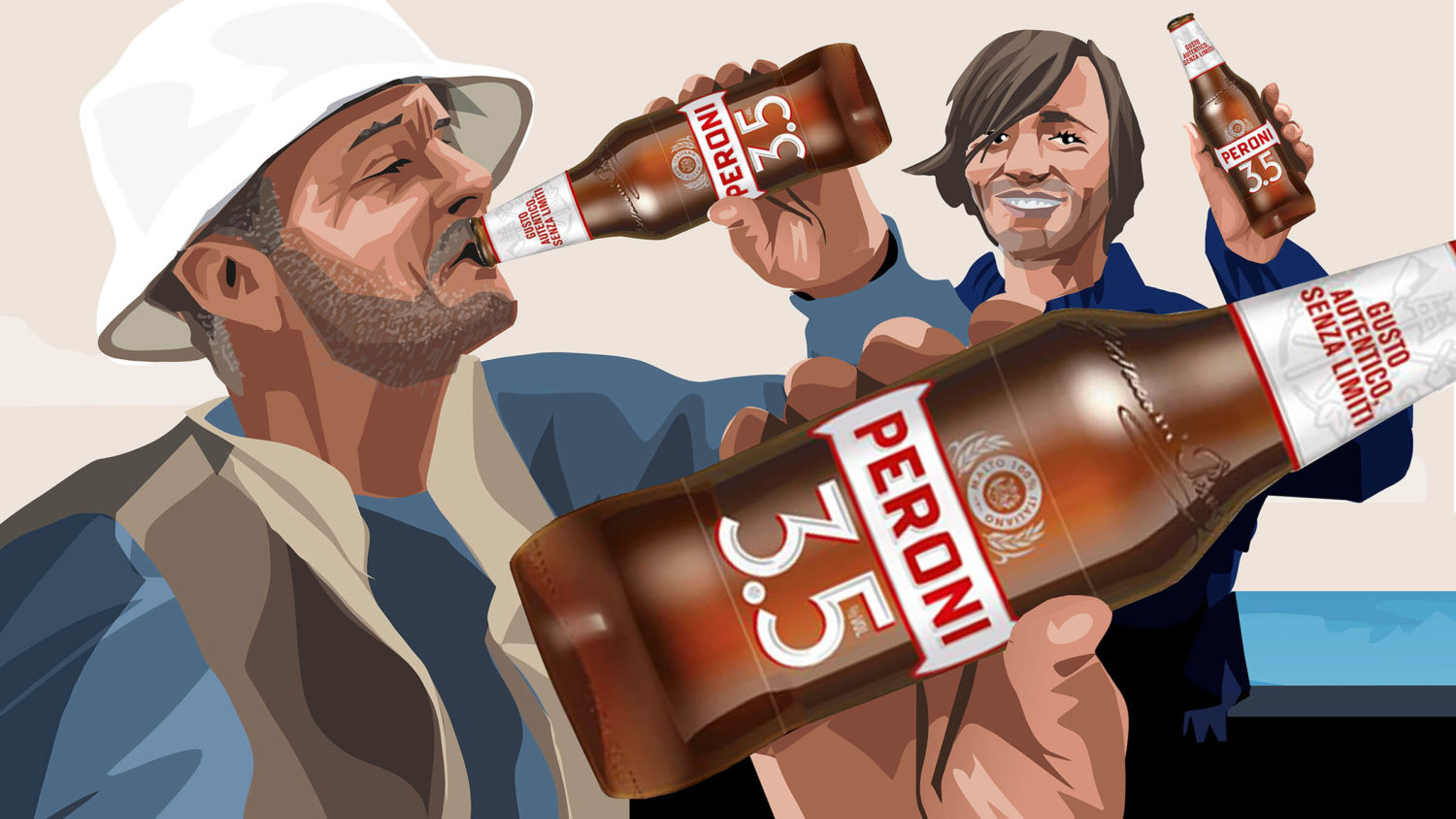 Eat Sleep And Design Peroni Fisherman Storyboard