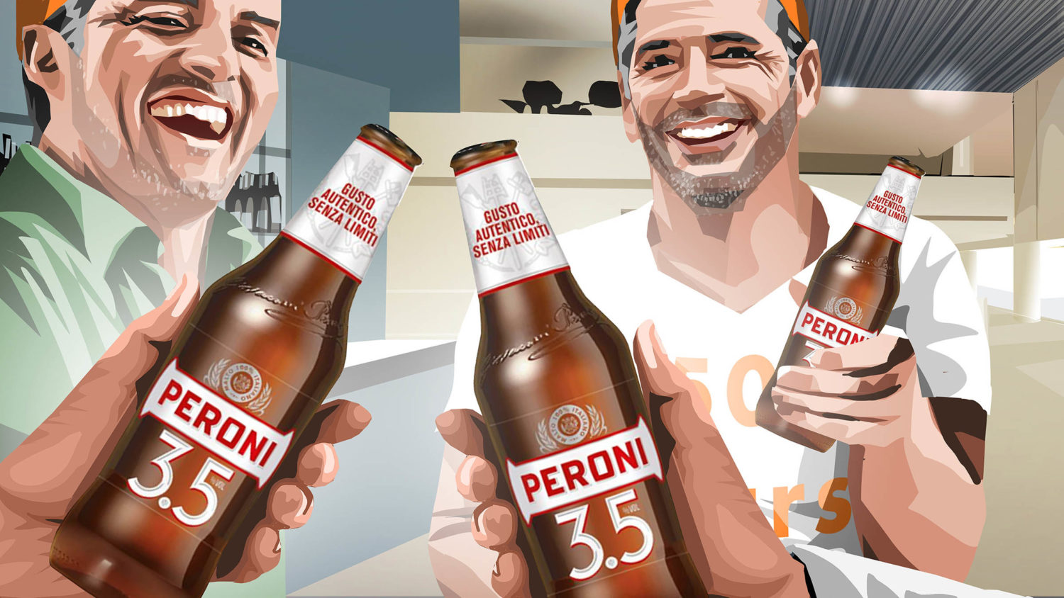 Eat Sleep And Design Peroni Trip Storyboard