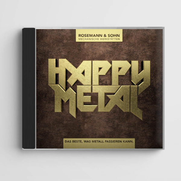 Eat Sleep And Design Rosmann & Srhn - Happy Metal CD